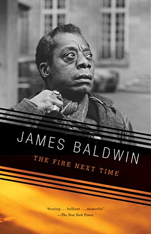 Cover of The Fire Next Time, by James Baldwin.